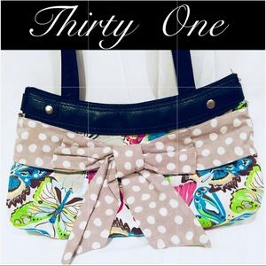 Thirty One !!  Butterfly Bow Purse.  Super Cute